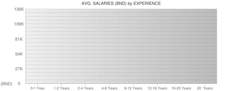 Average Salaryies By Experiences For Brunei
