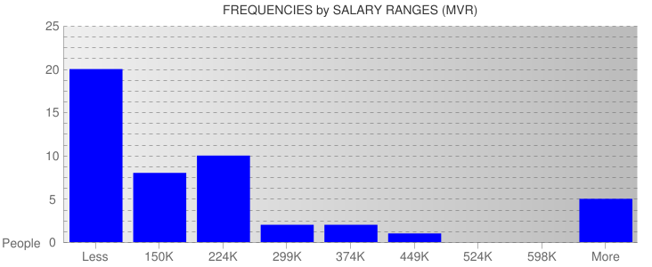 Average Salary Ranges For Maldives