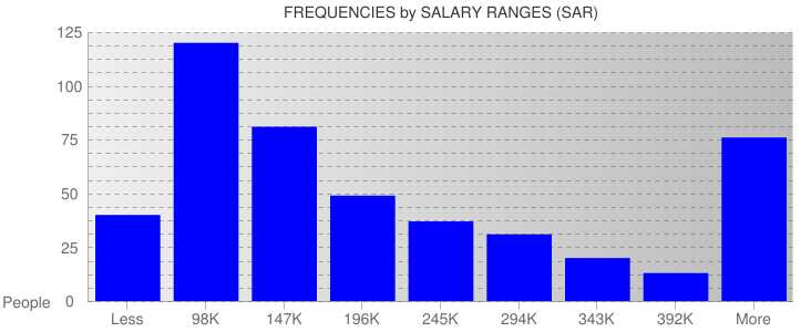 Average Salary Ranges For Saudi Arabia