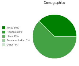 Edna High School Demographics