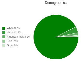 Oregon Trail Elementary Demographics