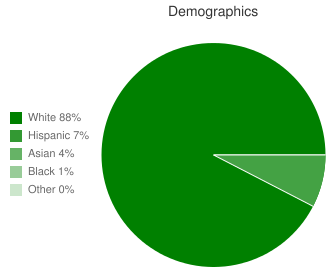 Desert Arroyo Middle School Demographics