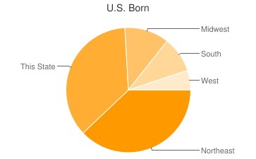 Most Common US Birthplaces in33131