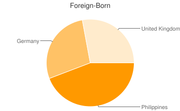 Most Common Foreign Birthplaces in35670