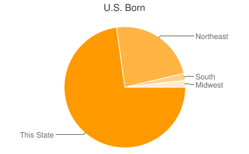 Most Common US Birthplaces in04255