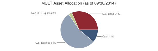 MULT Asset Allocation (as of 09/30/2014)