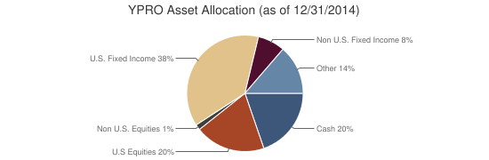 YPRO Asset Allocation (as of 12/31/2014)