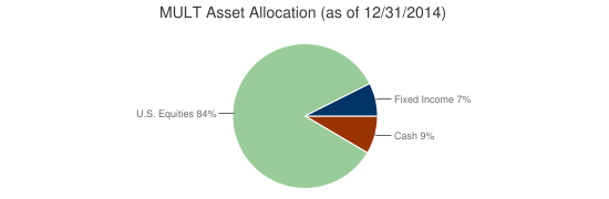 MULT Asset Allocation (as of 12/31/2014)