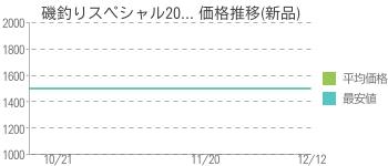 磯釣りスペシャル20... 価格推移(新品)