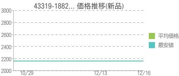 43319-1882... 価格推移(新品)