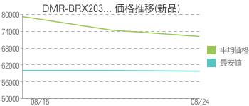 DMR-BRX203... 価格推移(新品)