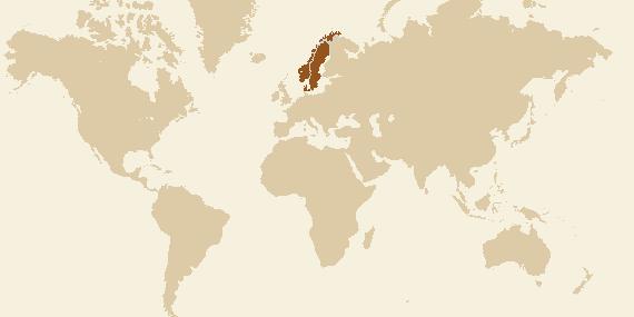 Länder med minst en provad öl