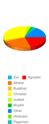 What are your religious beliefs? - Stats Chart