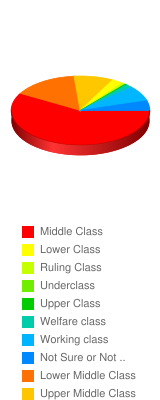 What is your social class? - Stats Chart