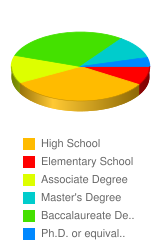What is your highest degree or educational level - Stats Chart