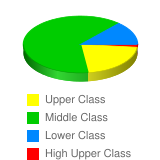 How would you classify your economic standing? - Stats Chart