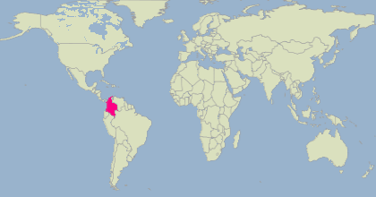 Colombia in the world