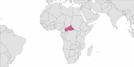 SMS sending Central African Republic