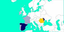 Votes for Romania