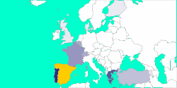 Votes for Spain