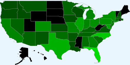 93 registrations by US State