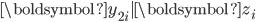 \boldsymbol{y}_{2i}|\boldsymbol{z}_{i}