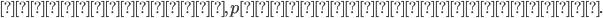 \displaystyle 持つならば, pは無限小数である.