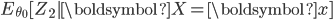 E_{\theta_0}[Z_2|\boldsymbol{X}=\boldsymbol{x} ]