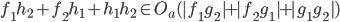 f_1h_2 + f_2h_1 + h_1h_2 \in O_a(|f_1g_2| + |f_2g_1| + |g_1g_2|)