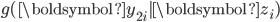 g(\boldsymbol{y}_{2i}|\boldsymbol{z}_{i})