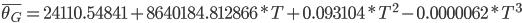 \bar{\theta_{G}} = 24110.54841 + 8640184.812866 * T + 0.093104 * T^2 - 0.0000062 * T^3