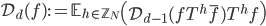 \mathcal{D}_d(f) := \mathbb{E}_{h \in \mathbb{Z}_N}\left(\mathcal{D}_{d-1}(fT^h\overline{f})T^hf\right)