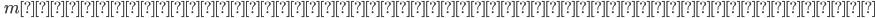 \quad m\text{を平方因子を持たない正整数とするとき、}