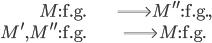 { \begin{align*} M\mathrm{:f.g.}&\Longrightarrow M^{\prime\prime}\mathrm{:f.g.}, \\ M^{\prime}, M^{\prime\prime}\mathrm{:f.g.}&\Longrightarrow M\mathrm{:f.g.} \end{align*} }