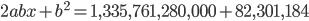 {2abx+b^2=1,335,761,280,000+82,301,184}