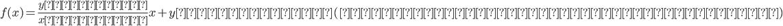 f(x)=\frac{yの増加量}{xの増加量}x+y軸との切片(元から容器に入っている水の量)