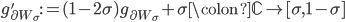 g_{\partial W_{\sigma}}':=(1-2\sigma)g_{\partial W_{\sigma}}+\sigma \colon \mathbb{C} \to [\sigma, 1-\sigma]