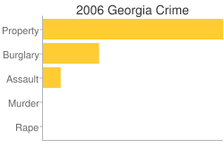 Georgia Criminal Activity Breakdown