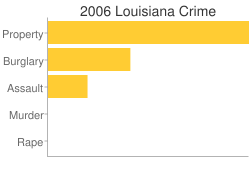 Louisiana Criminal Activity Breakdown