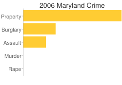 Maryland Criminal Activity Breakdown