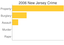 New Jersey Criminal Activity Breakdown