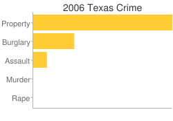 Texas Criminal Activity Breakdown