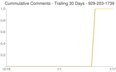 Cummulative Comments 929-203-1739
