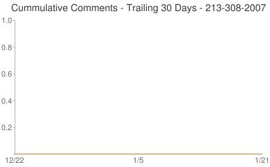 Cummulative Comments 213-308-2007