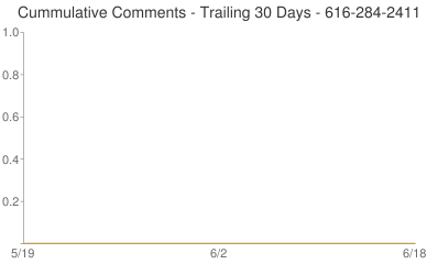 Cummulative Comments 616-284-2411