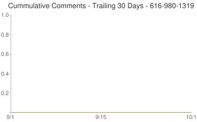 Cummulative Comments 616-980-1319