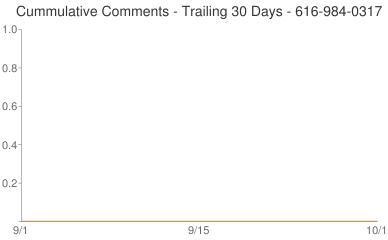 Cummulative Comments 616-984-0317