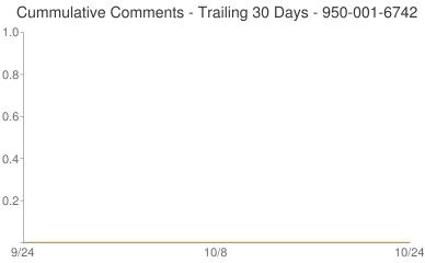 Cummulative Comments 950-001-6742