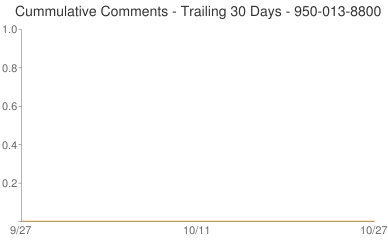 Cummulative Comments 950-013-8800