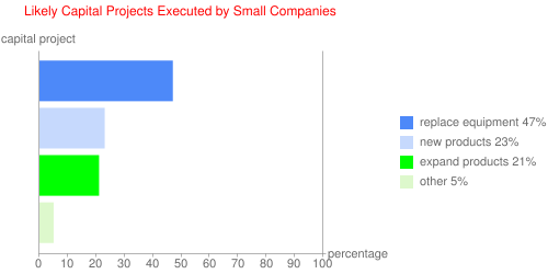 Likely Capital Projects Executed by Small Companies